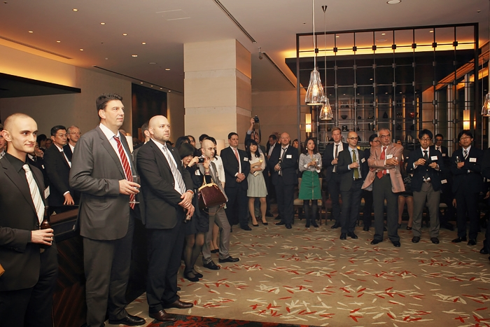 Participants gathered for an evening of business insight and business networking arranged with CLIC