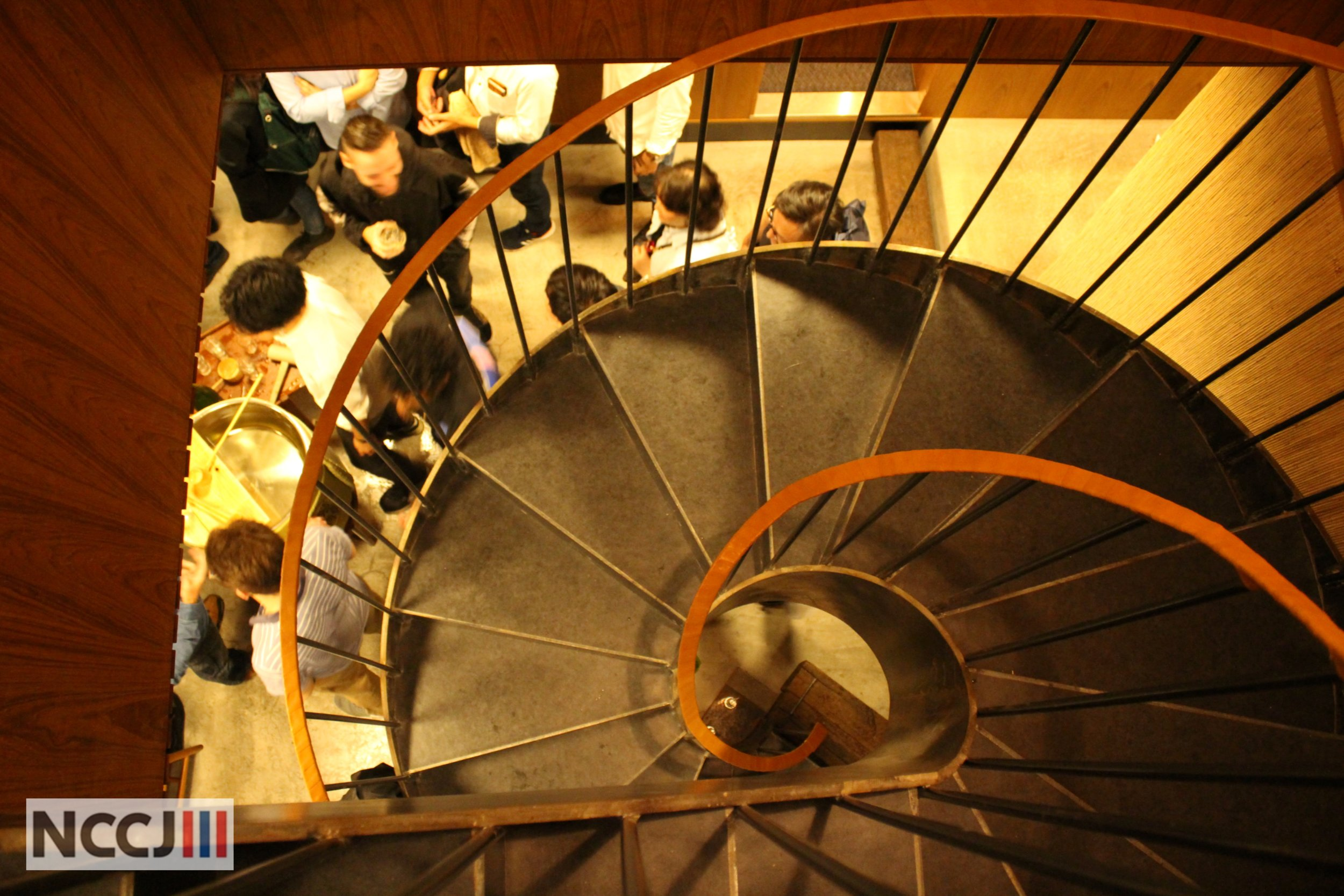 Even Fuglen's staircase looks good on pictures…