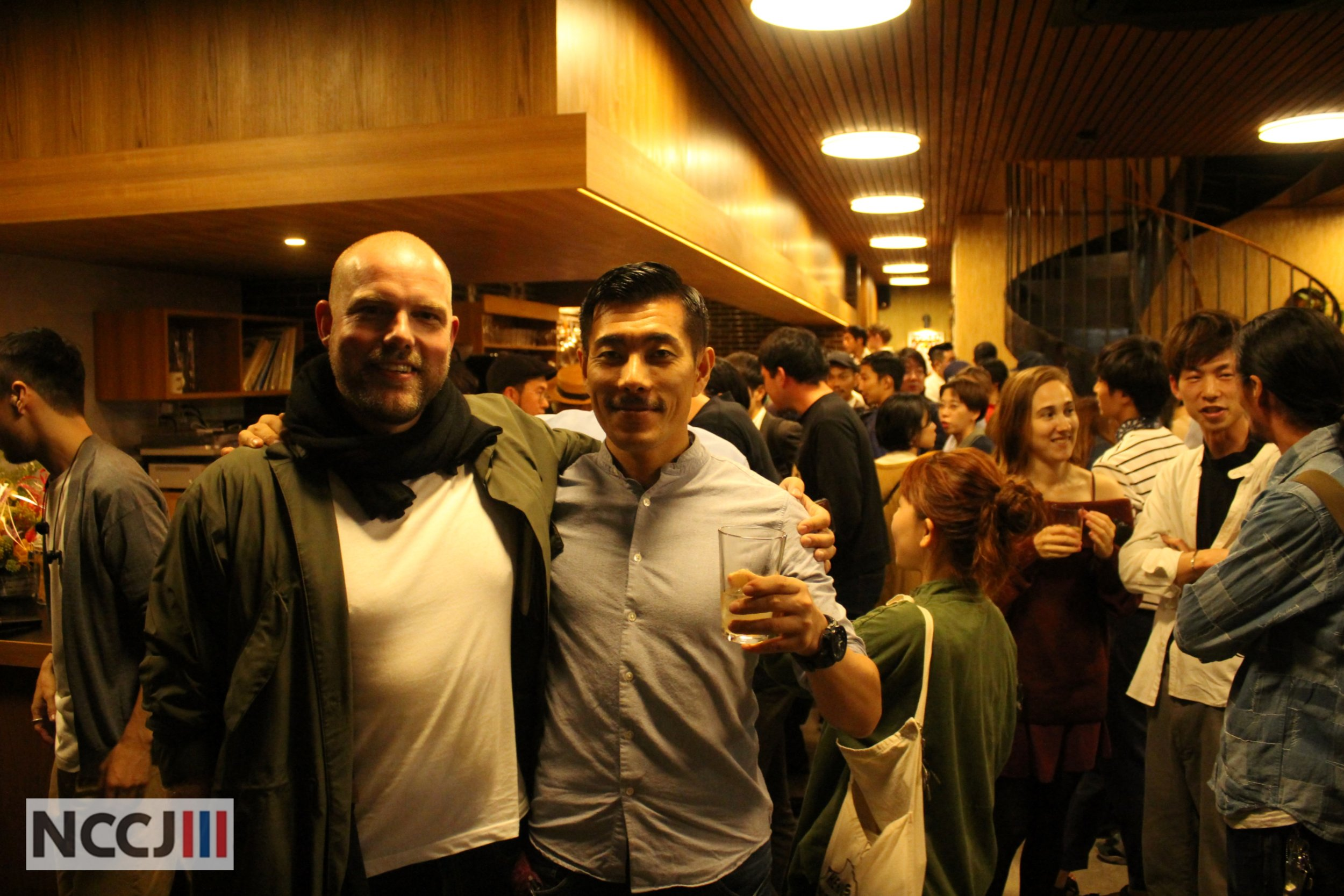 Einar Kleppe Holthe together with Japan's General Manager Kenji Kojima