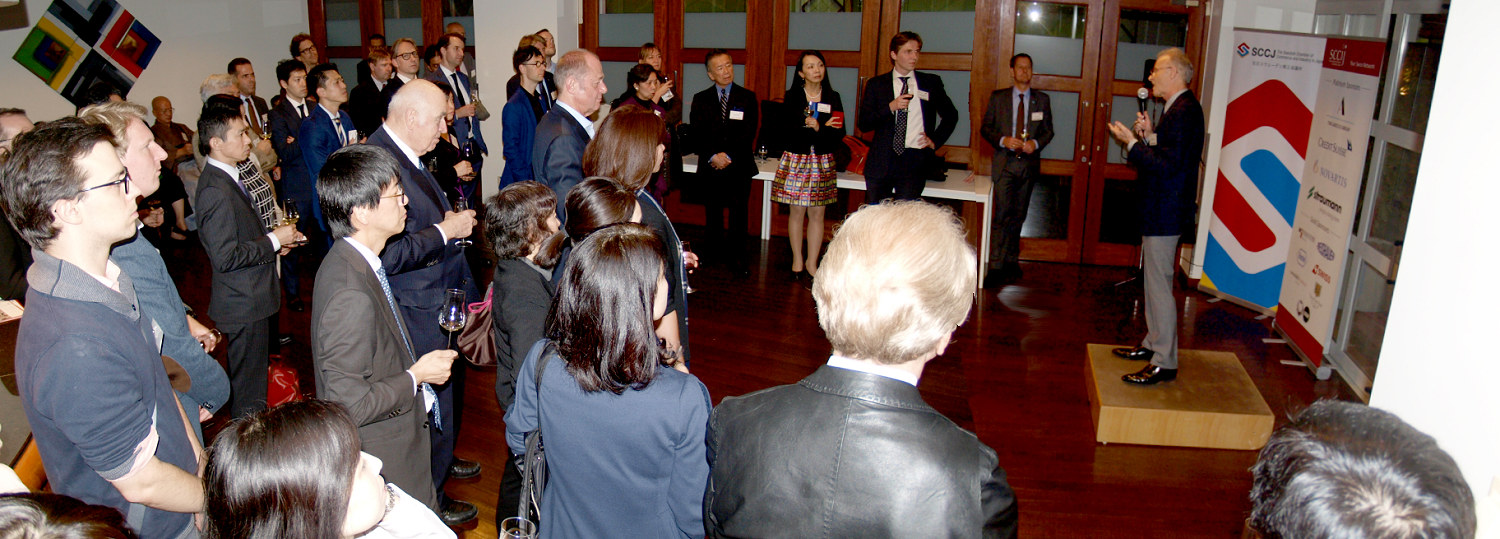 The event was attended by 75 members and guests from the CLIC Chambers.