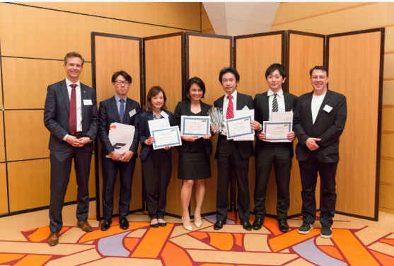 The winning team of JMEC 24
