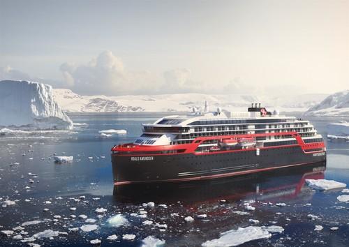 You can explore some of the world's most pristine and remote destinations with Hurtigruten
