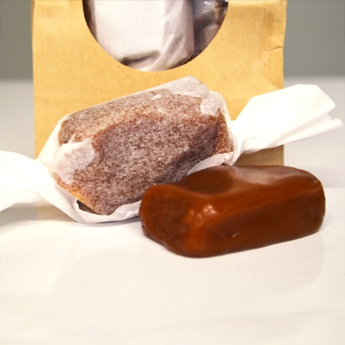 Buttery Caramels   Our caramels are made from the simplest of ingredients, no preservatives, etc etc.