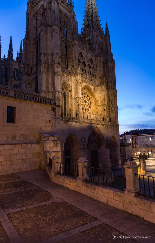 Catedral de Santa María de Burgos, sunrise