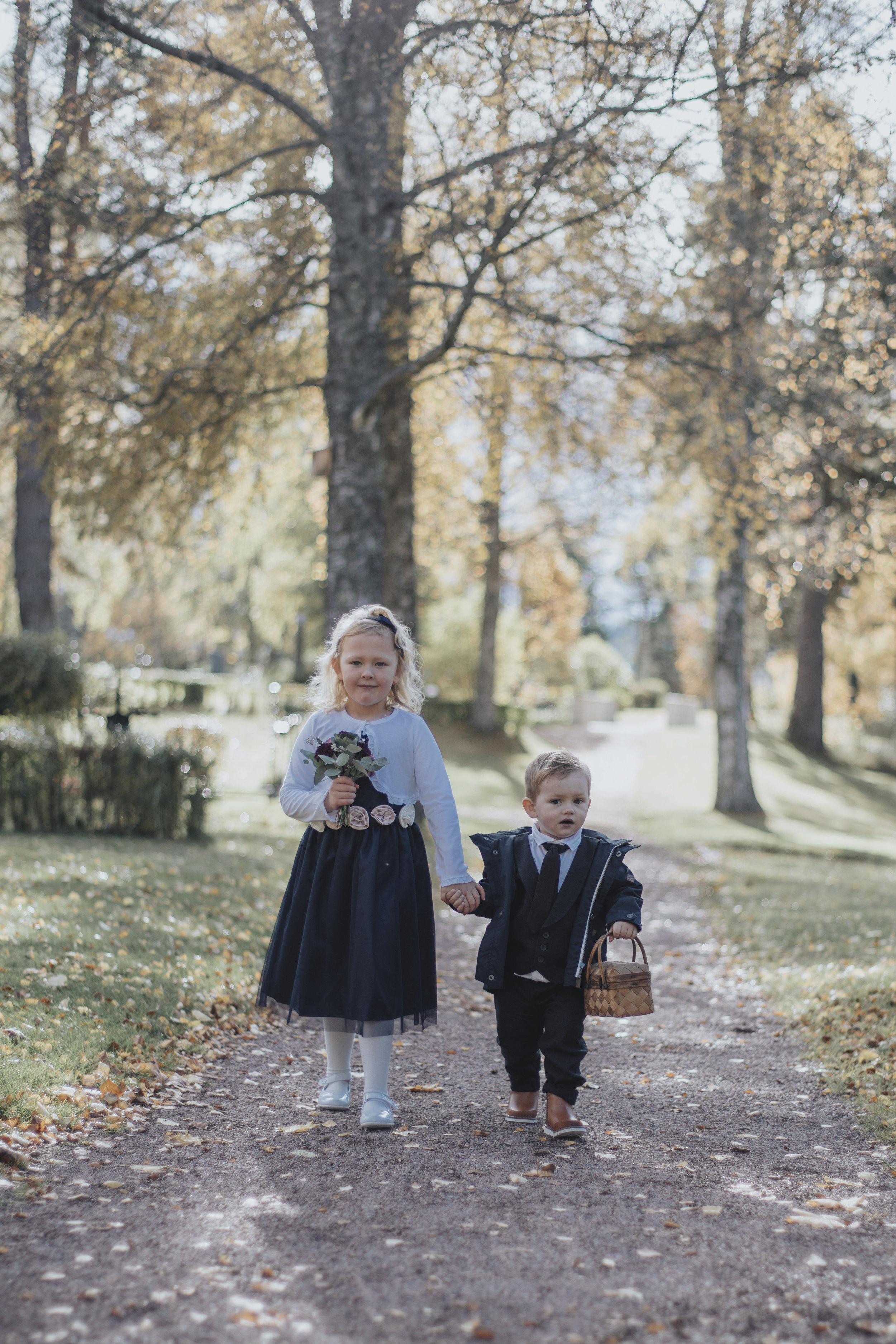 Bröllop med utsikt över Siljan