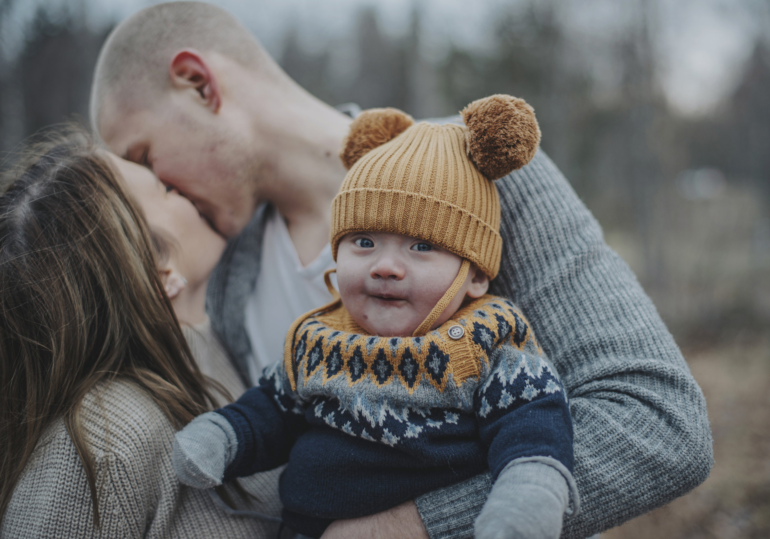 Familjefotografering med charmören Noel