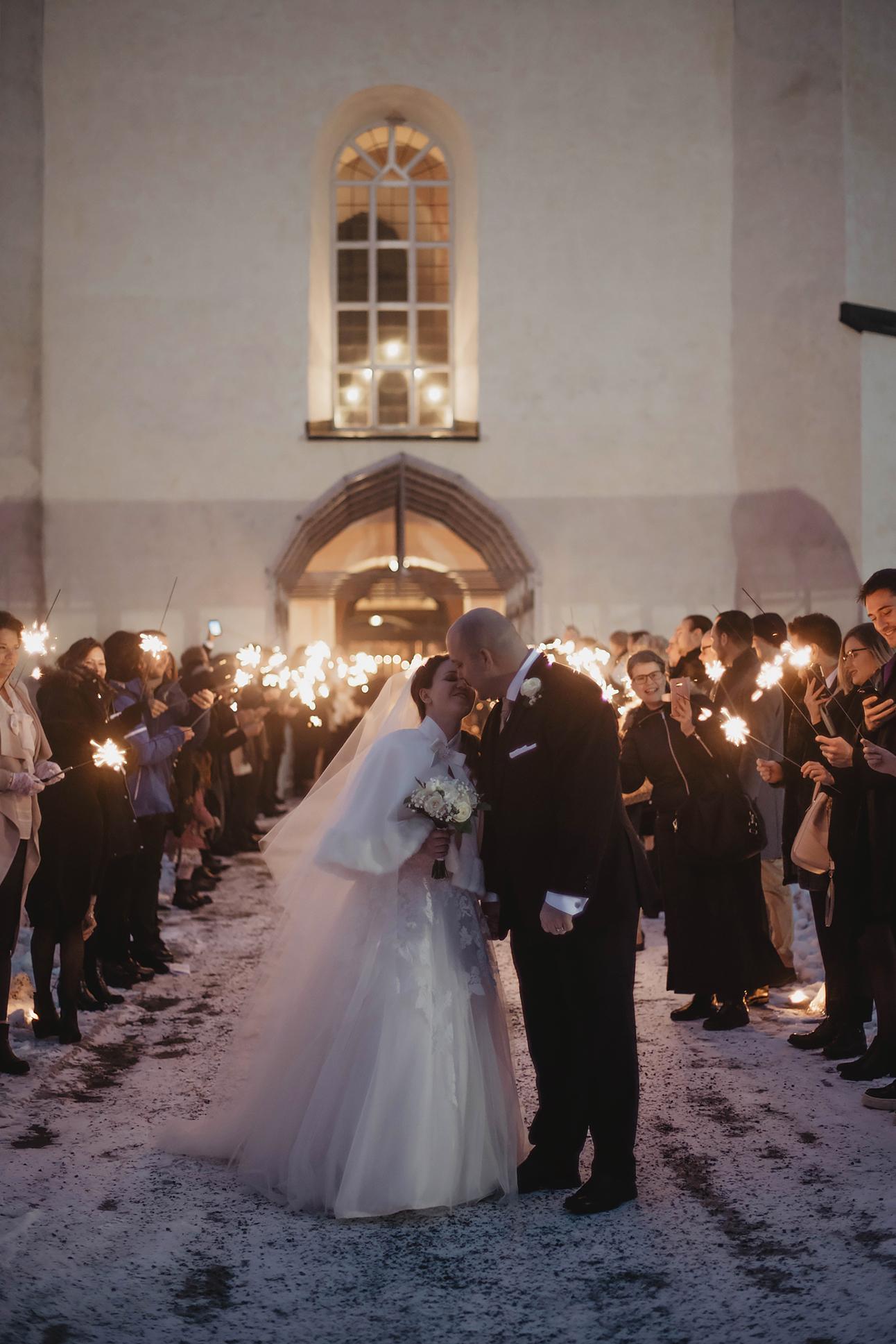 Vinterbröllop - Roy & Sofie