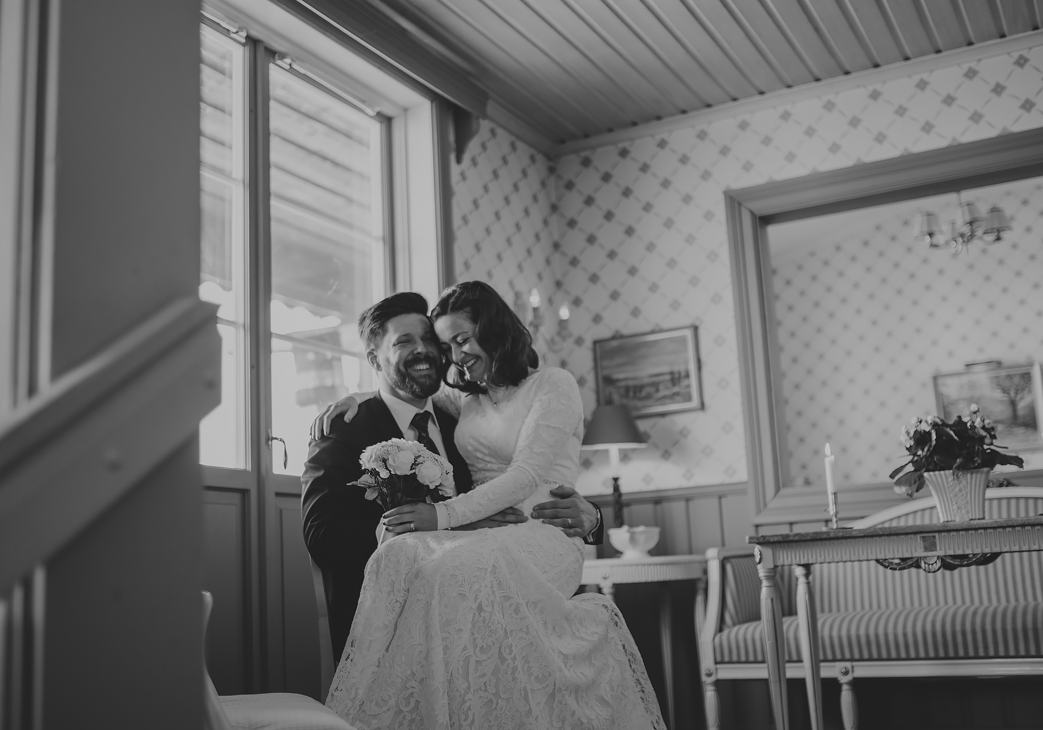 Winterwedding in Tällberg - Aisha & Henric