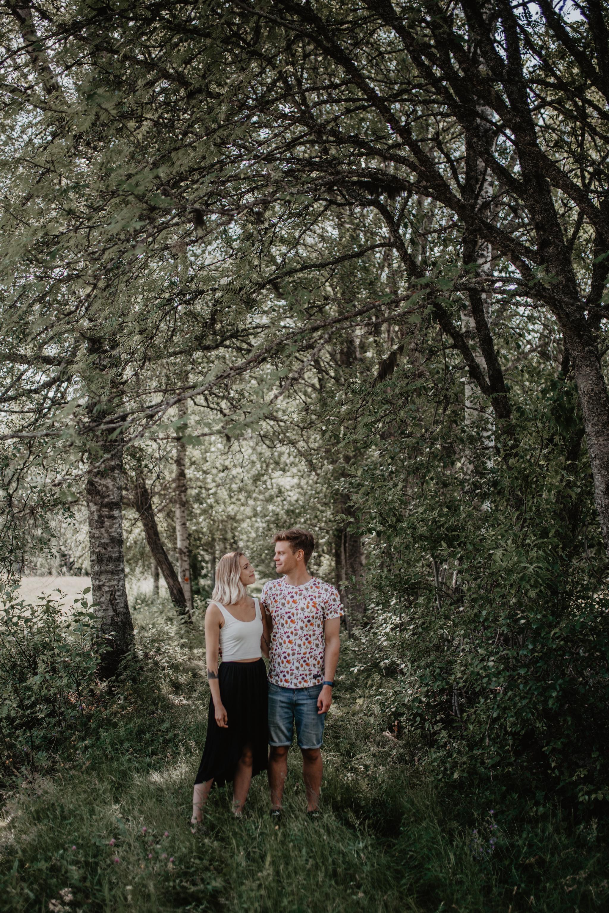 Inför naturbröllop i Svärdsjö Falun