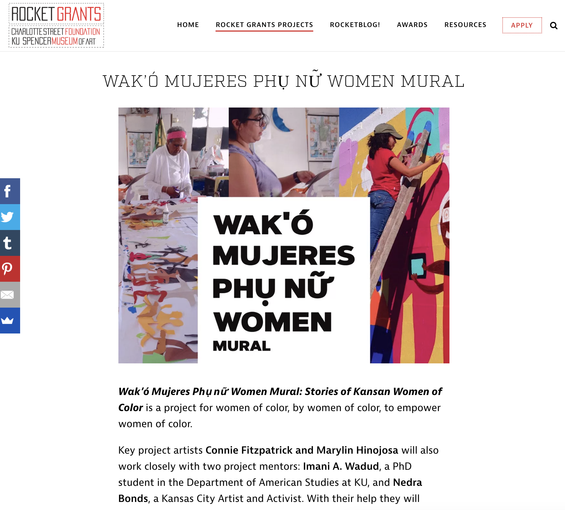 women of color mural
