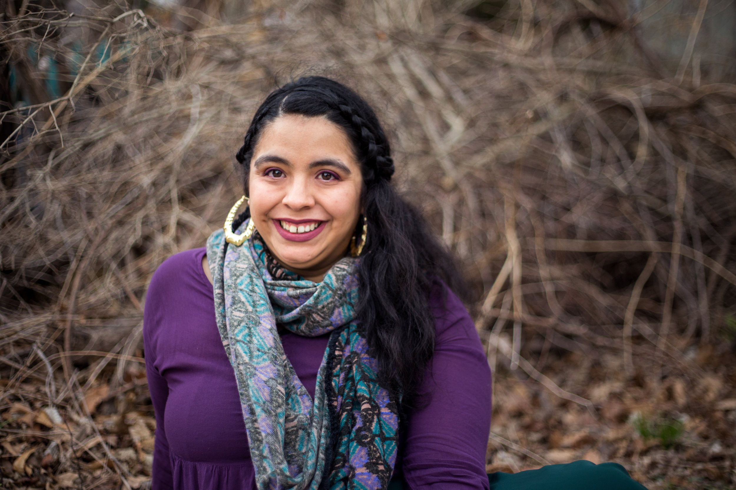 Marylin Hinojosa - Project Roles: Oral History Interviewer, Lead Artist.Marylin is a multi-disciplinary artist in Kansas. She is a Latinx woman from southwest Kansas. She earned an Associate of Arts at Dodge City Community College 2011 and graduated from the Arts Program at the University of Kansas in 2015. She has experience with multiple community mural projects. Marylin was a part of a large, collaborative commissioned sculpture project for the Federal Reserve of Kansas City in 2014. She is also a board member of the Enclave, an art collaborative, and a member of W.O.C* Makers in Lawrence KS. *w.o.c.: pronounced woke; woman of color.To learn more about Marylin click here.
