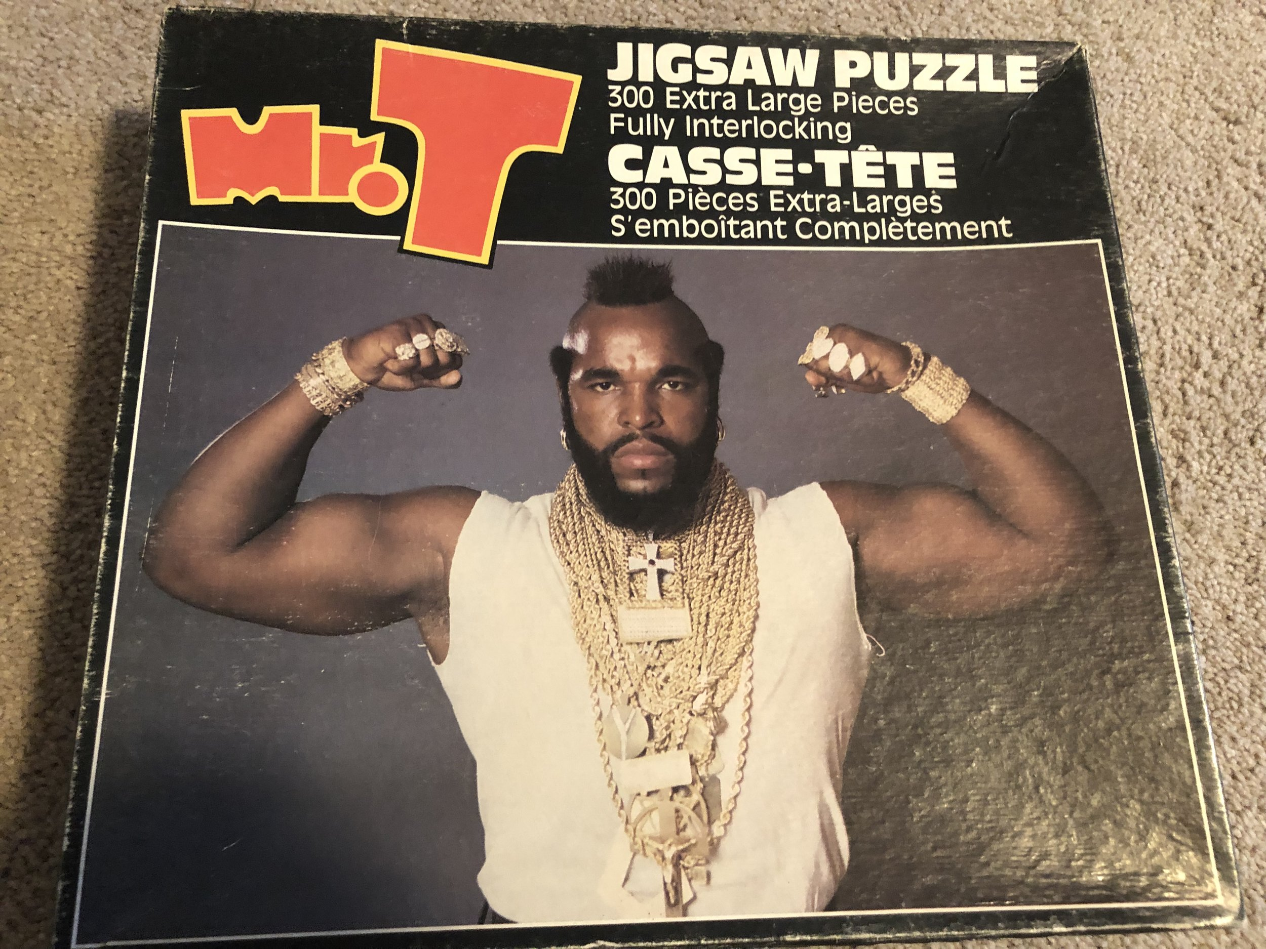 I Pity the Fool Who Can't Solve This Puzzle