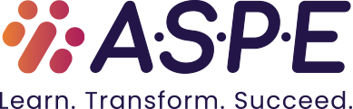 ASPE - To find out how ASPE can help you and your company, visit ASPEtraining.com.