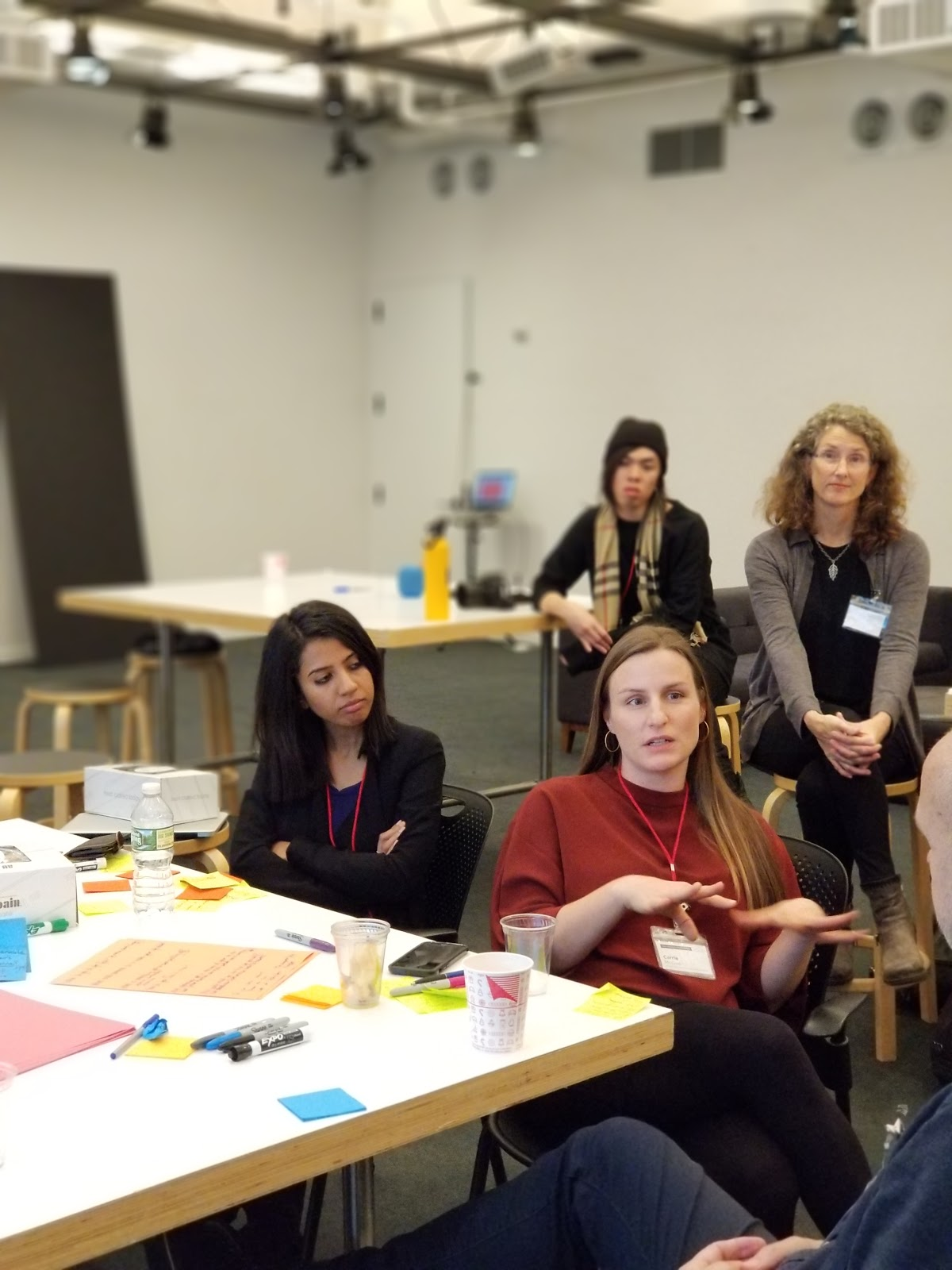 The Open IDEO Dementia Challenge Workshop in partnership with AARP held at SY Partners, New York, November 2017