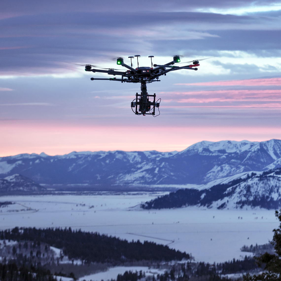 Aerial Video Services in Jackson Hole
