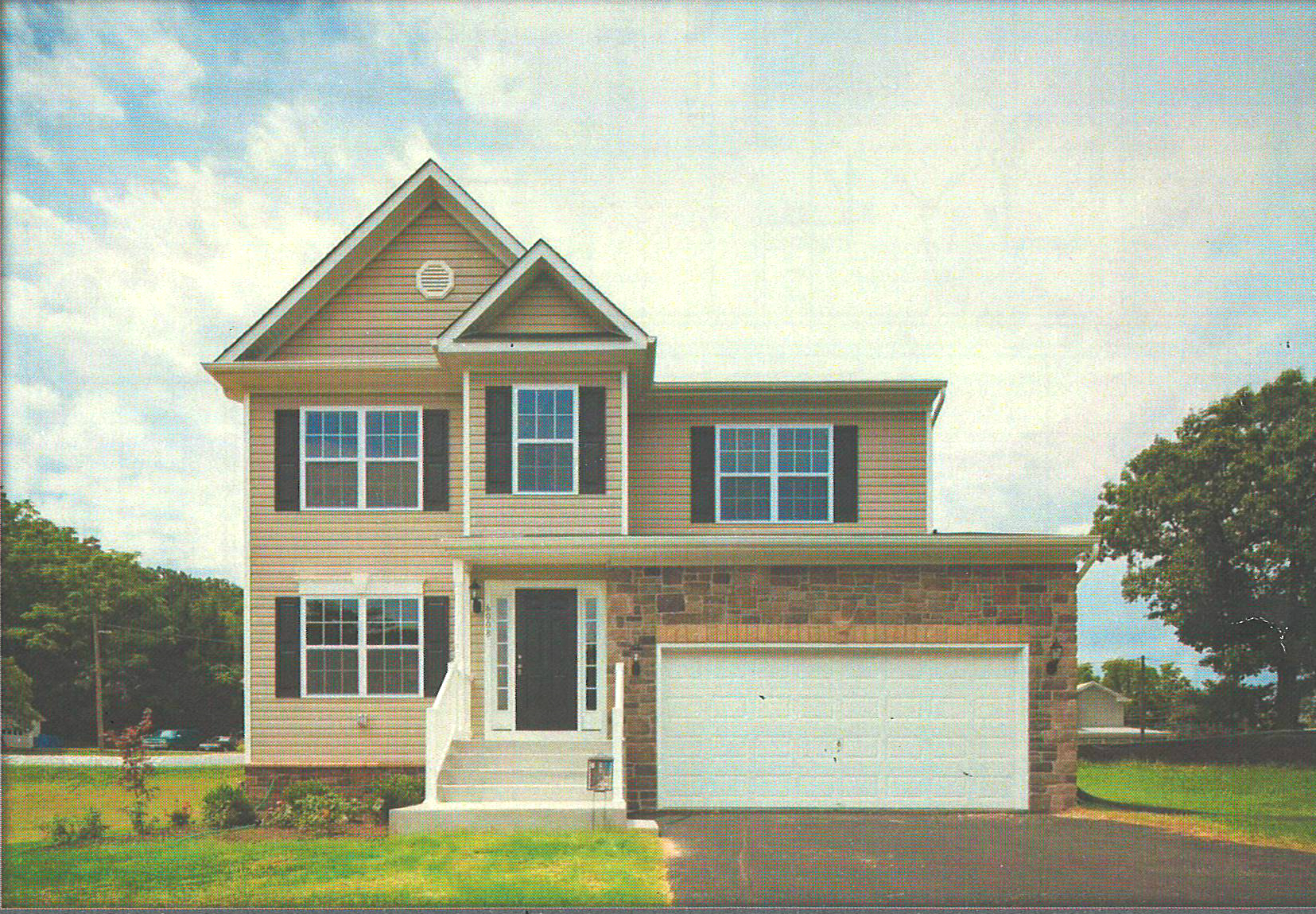 This Harmony Builders Rockburne model is being built by buyer clients represented by Jerry Kline, Realtor, Keller Williams Flagship of Maryland. The new-construction home will be located 10 minutes from quickly growing Fort Meade, Maryland, and should be completed by July.