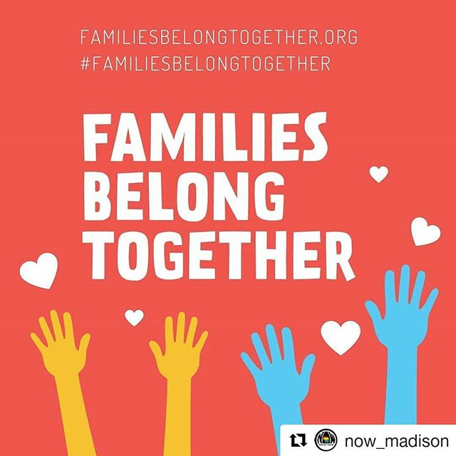 #Repost @now_madison ・・・ Tomorrow from 3 to 5pm at the State Capital!  If you would like to join the Madison NOW group, we will be meeting by the Lady Forward statue at 2:45PM.  We hope to see you there! #familiesbelongtogether #madisonwi