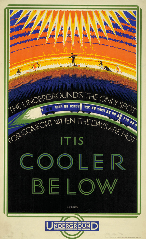 Copy of Charles Frederick Herrick.  It's cooler below (1926)
