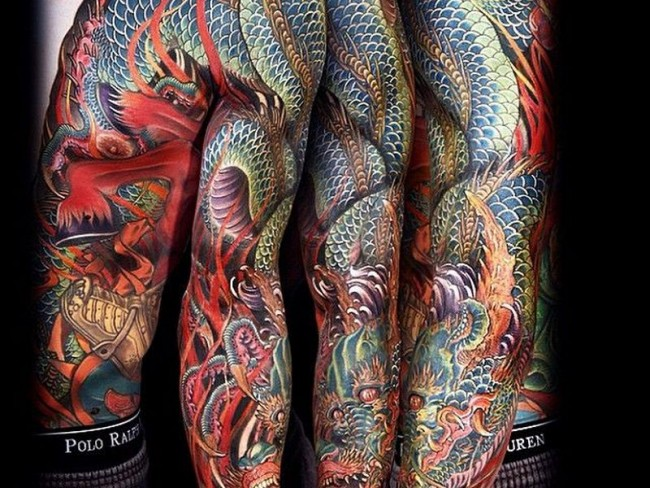 Neo Japanese.  Photo: www.tattoo-journal.com
