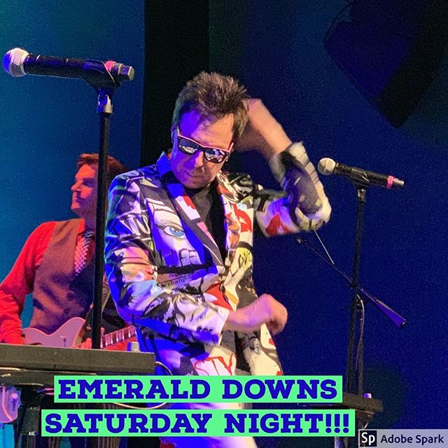 The Retros will be back at Emerald Downs on Saturday, August 10th! Show starts at 8:30 and we play until midnight! So let's see all of the South Enders there!! ...And everyone else too! See you there!! #theretrosband #newwave #seattle #theretros #seattlesbest #80s #80smusic #80snewwave #80sfashion #madonna #danceparty #fun #vancouver #livemusic #auburn #portland #sunglassesatnight #sunglasses #walklikeanegyptian #videokilledtheradiostar #vogue #rickrolled #youspinme #deadoralive #devo #whipit #seattlelivemusic #seattlemusic #tacomamusic