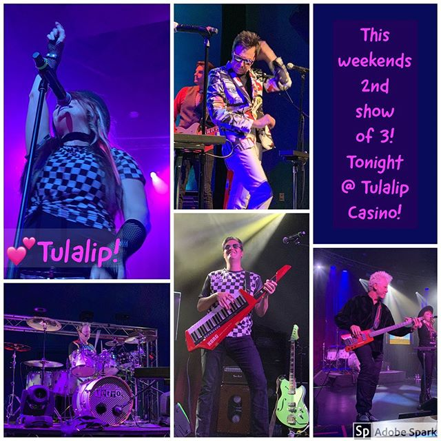Last nights show at Ilani Casino was AWESOME! Tonight we are going to be at Tulalip Casino! Get ready for it!!! See you there!! #welovethe80s #welovetheretros #80snewwave #theretros #seattlesbest #tulalipcasino #letsdothis #livingonadrenaline #letsdance