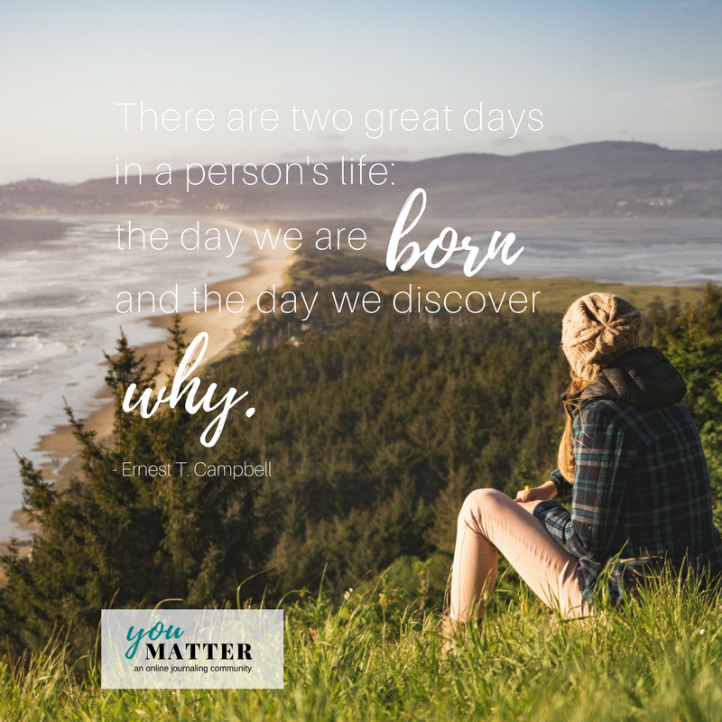 You Matter Journaling - Month 2, Prompt 2