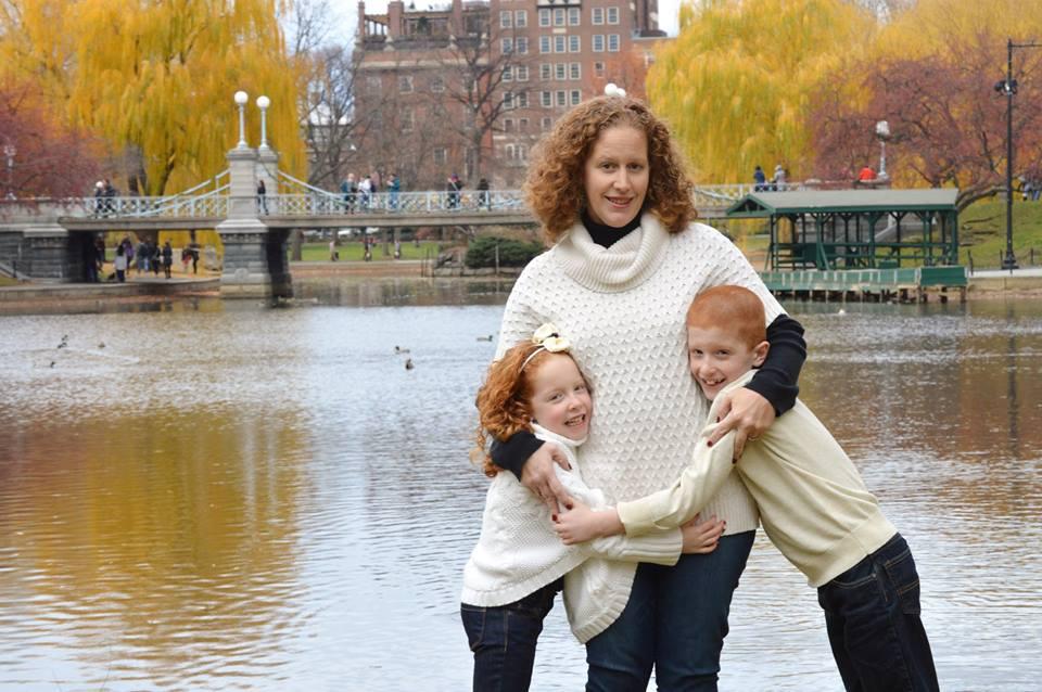 Dwyer Family - Public Gardens, Boston MA