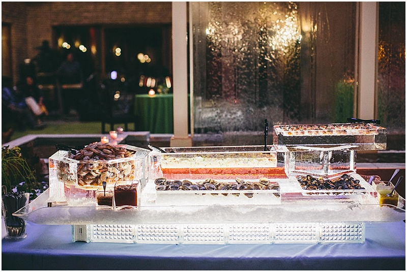 Frozen Wedding Buffet layout