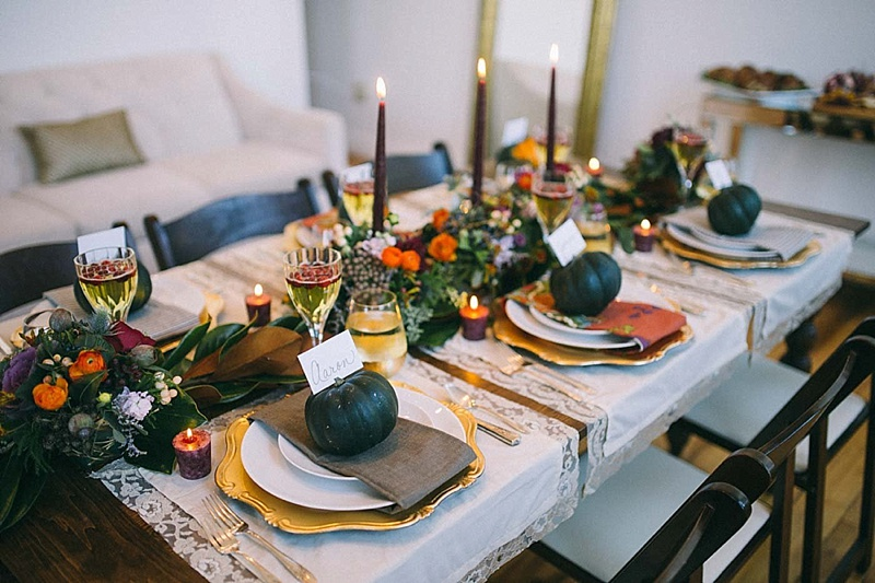 Thanksgiving Place Setting-rosetree-thanksgiving