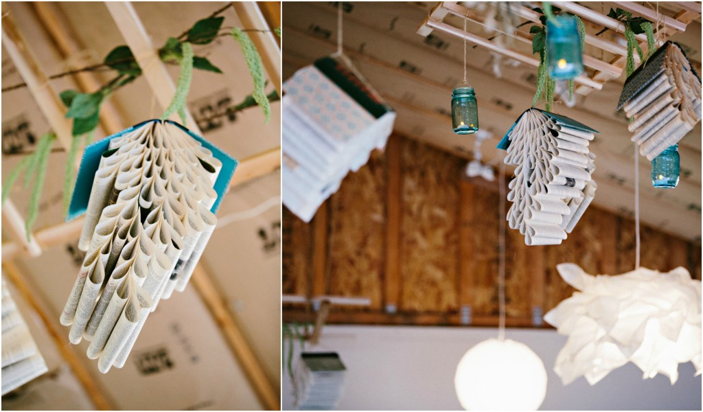 Hanging Book Decor