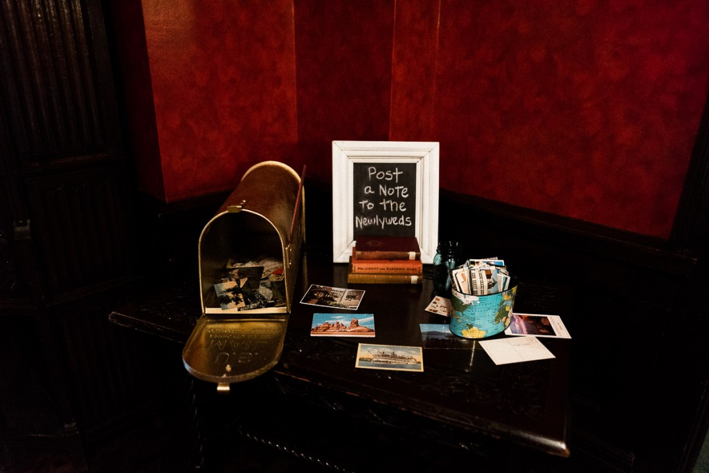 Guest book ideas with mailbox