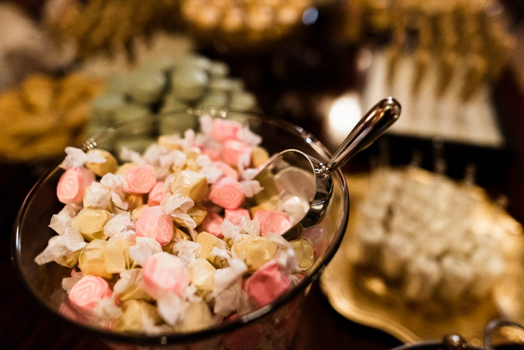 Saltwater taffy on candy display at Minneapolis Club