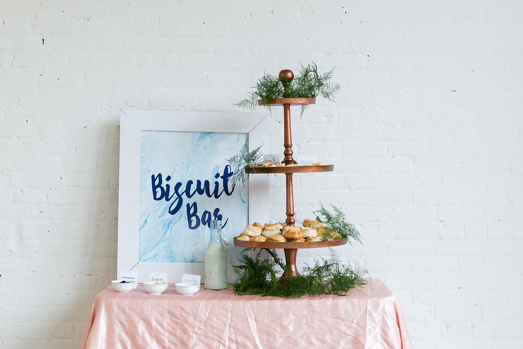 Wedding food, catering ideas. Biscuit Bar