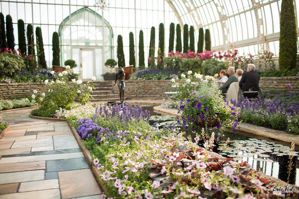 Como Park Zoo and Conservatory Wedding