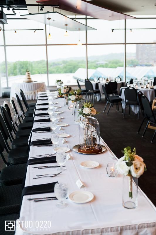 Science Museum of Minnesota wedding reception