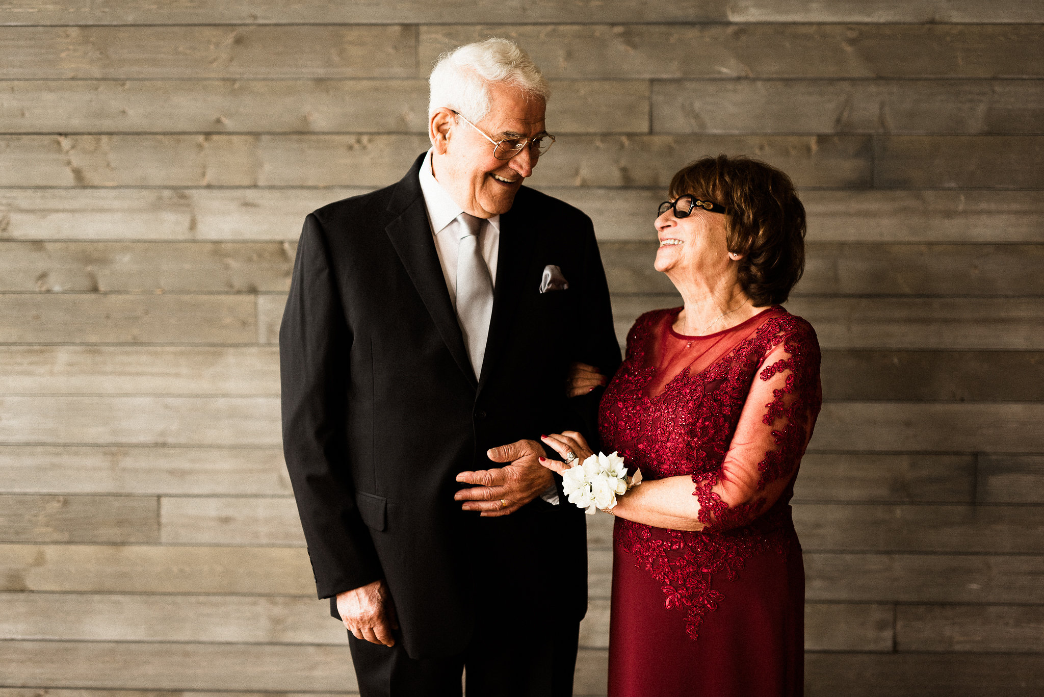 couple at the MN wedding
