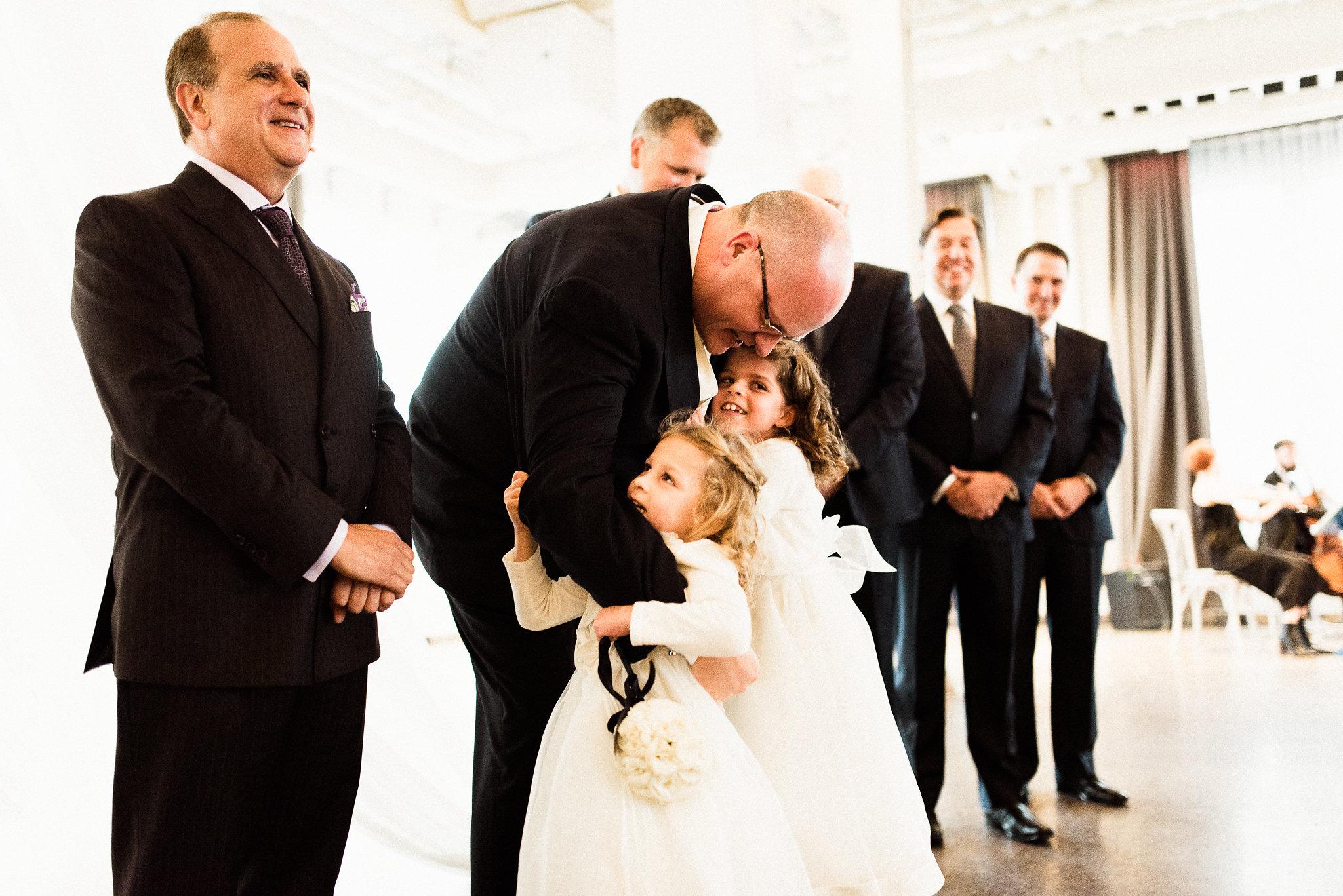indoor wedding ceremony in MN