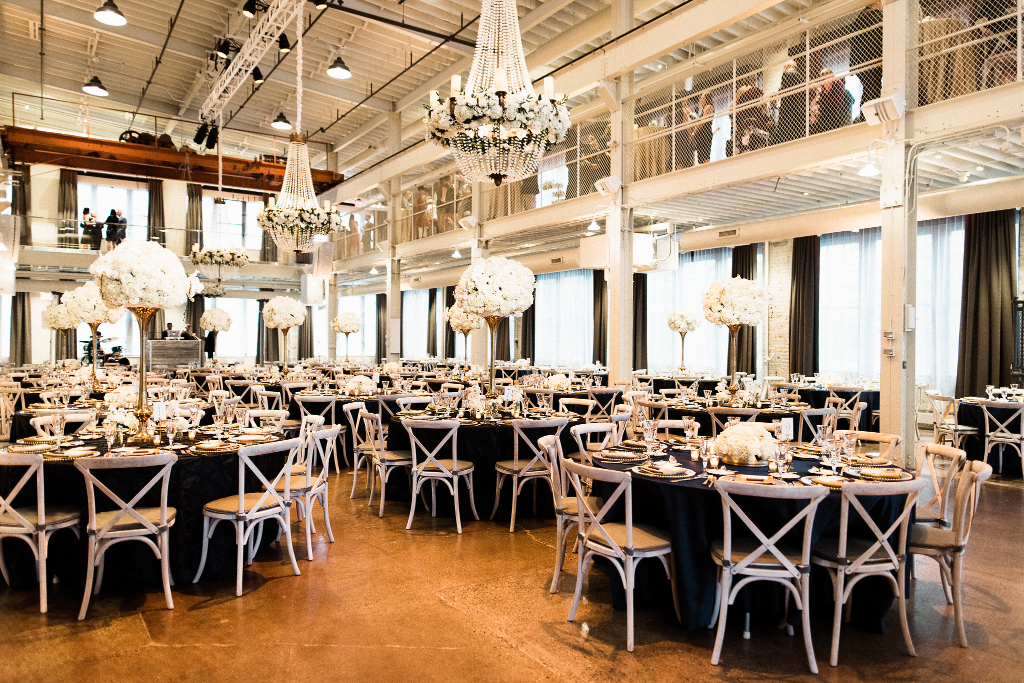 Wedding reception planned by Rosetree Wedding & Events