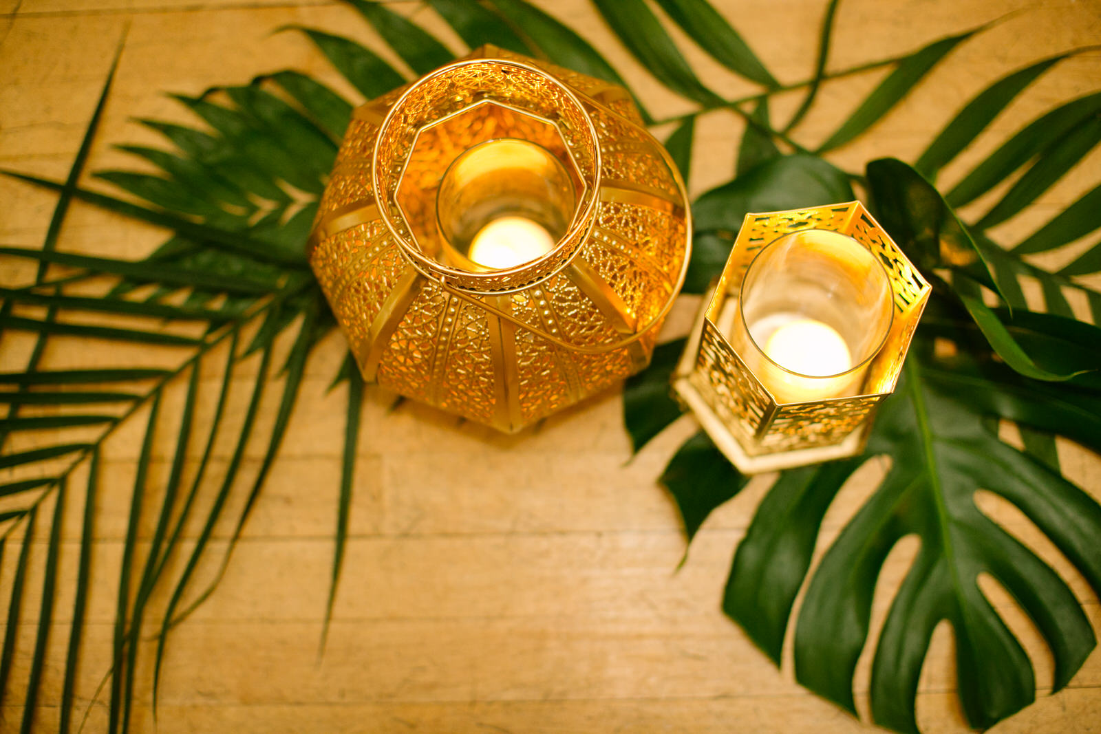 candles decor for wedding ceremony
