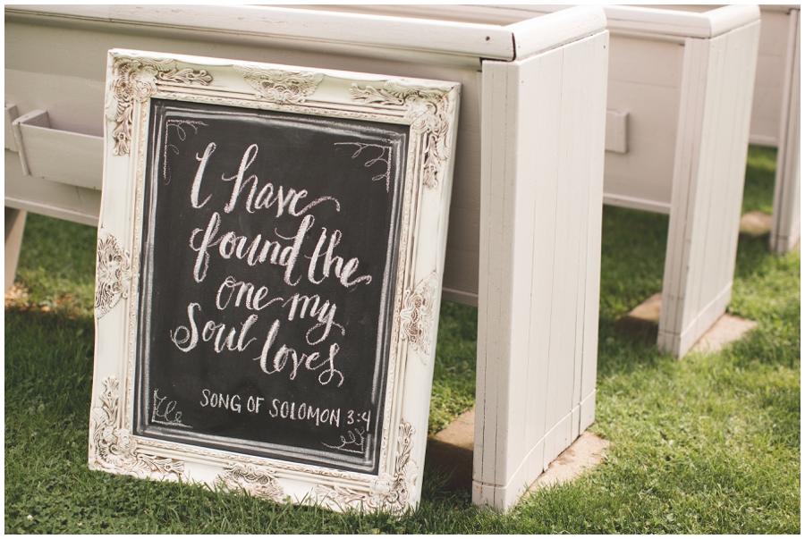 outdoor wedding ceremony signs