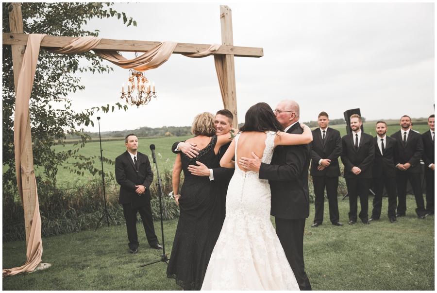 wedding ceremony in MN