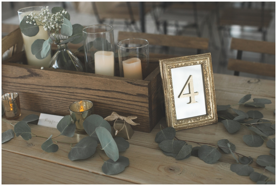seat number frames for guests