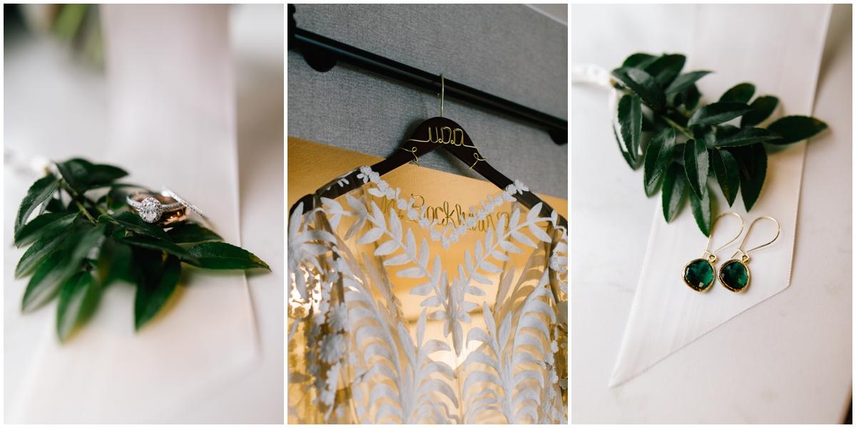Greenery wedding theme accessories
