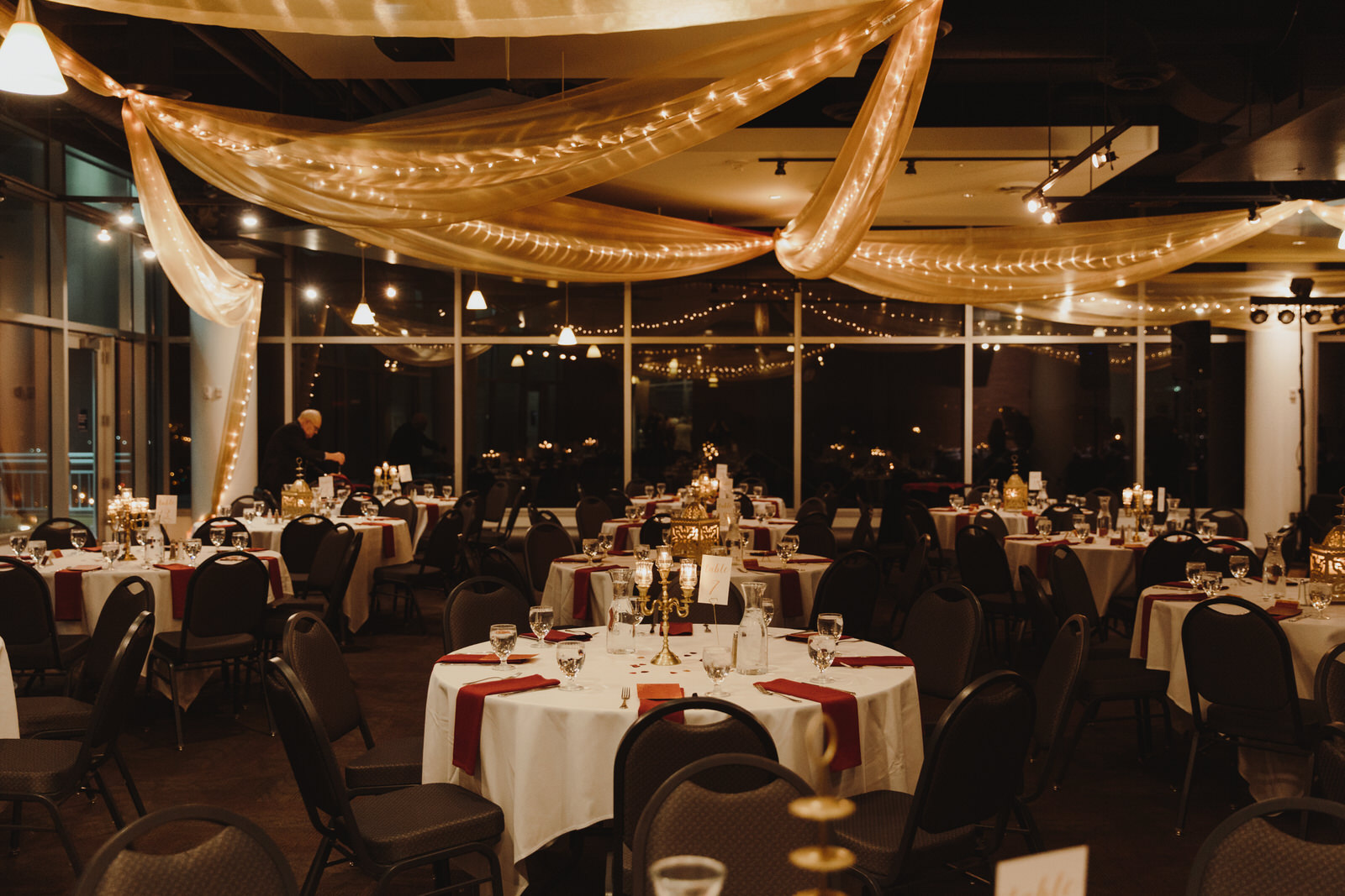 wedding at the Science Museum of MN planned by Rosetree Weddings & Events