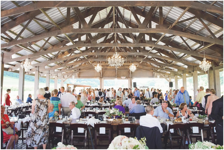 Hidden Meadow & Barn wedding