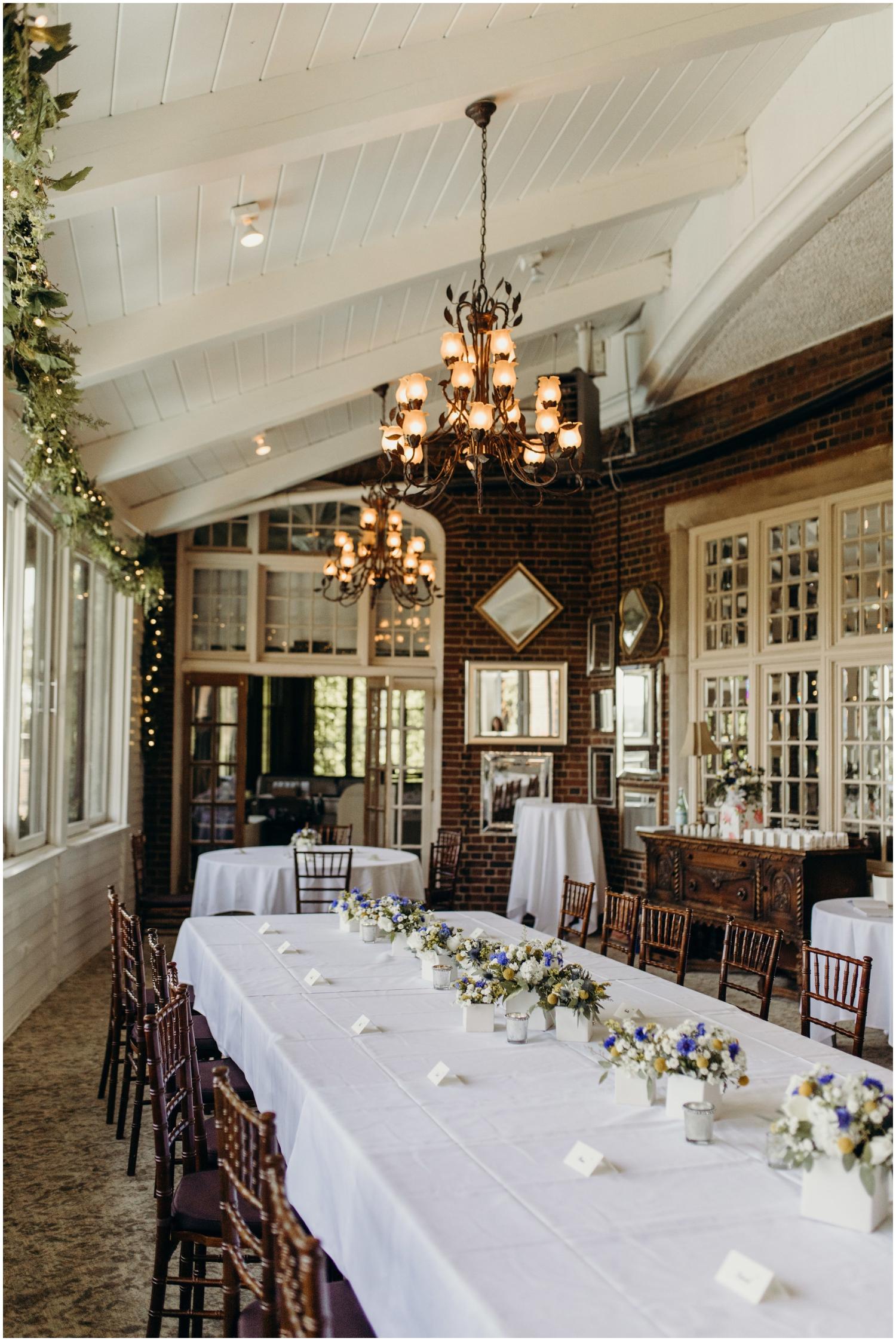 Wedding Reception at St. Paul University Club