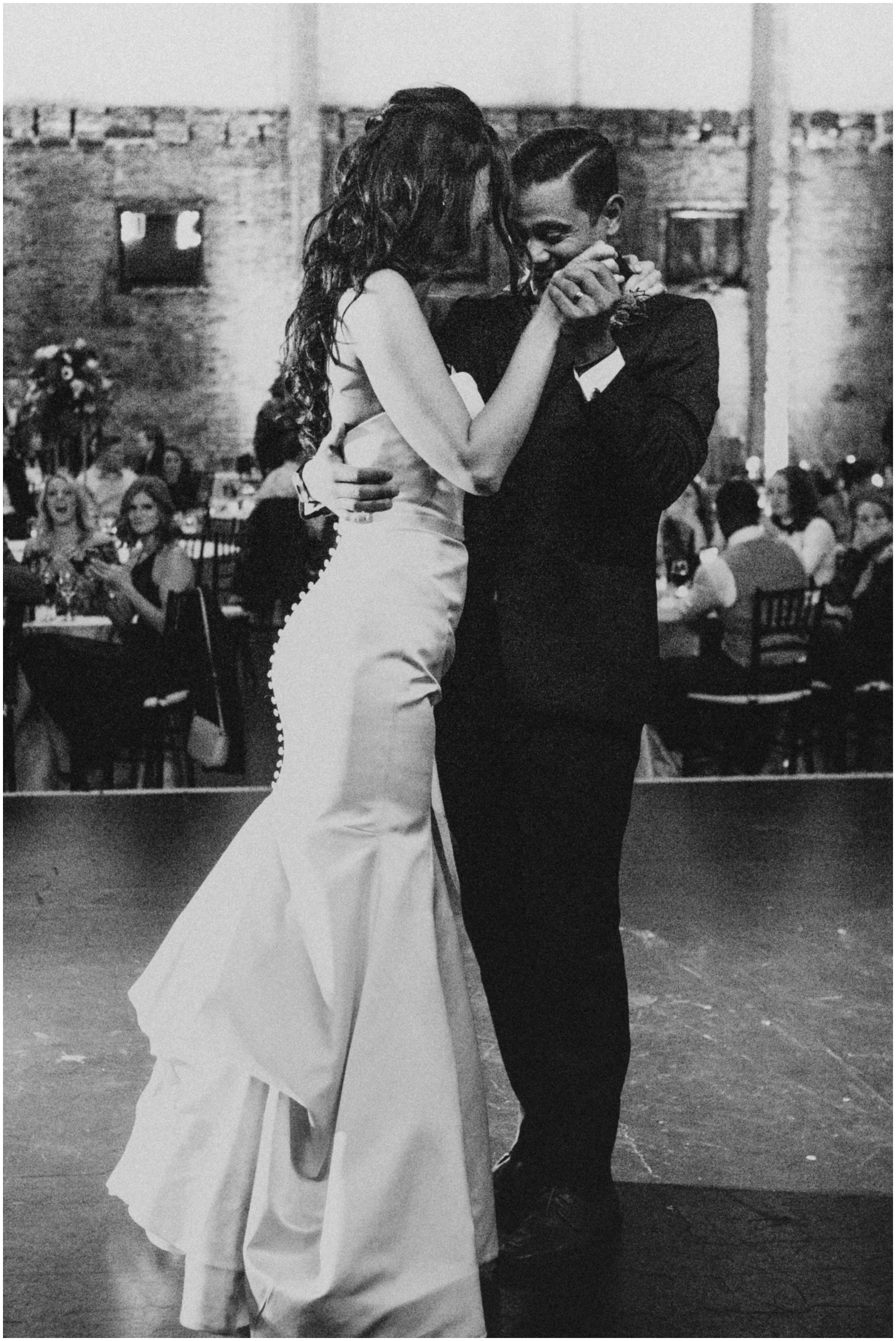 Bride and Groom Dancing at their Mn wedding Reception