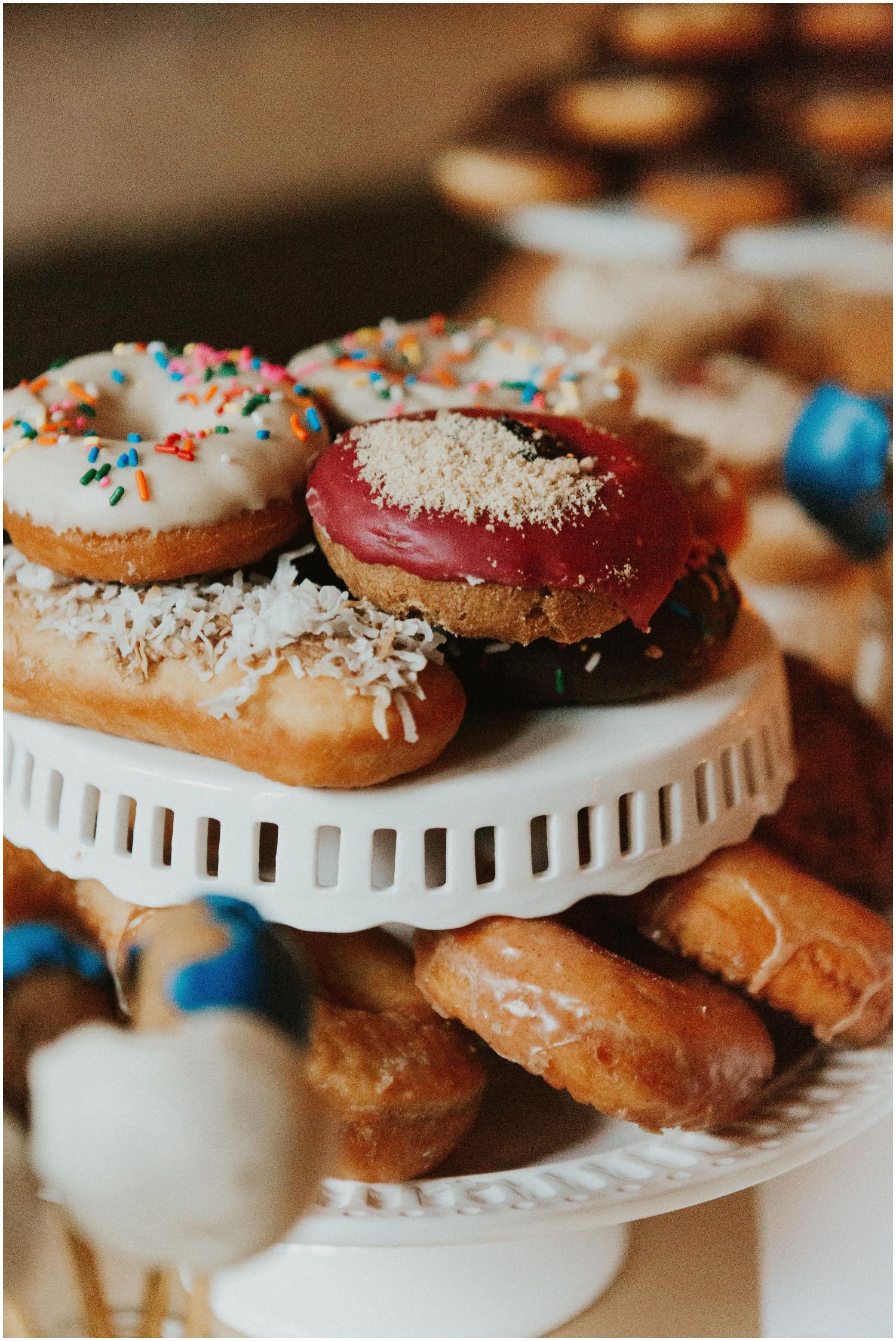Donuts Dessert Table Display