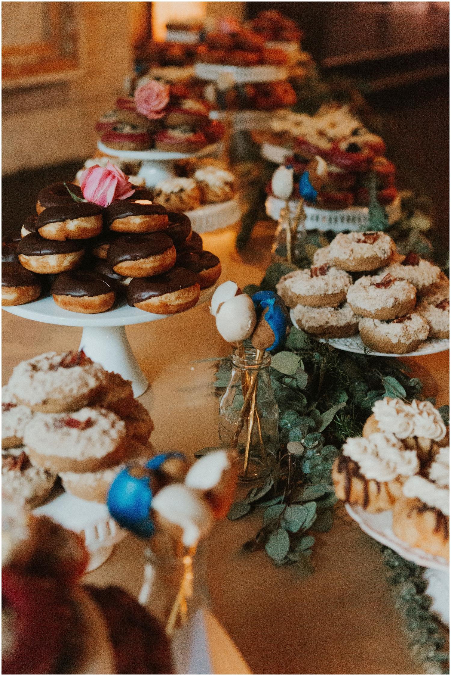 Donut Dessert Display Table