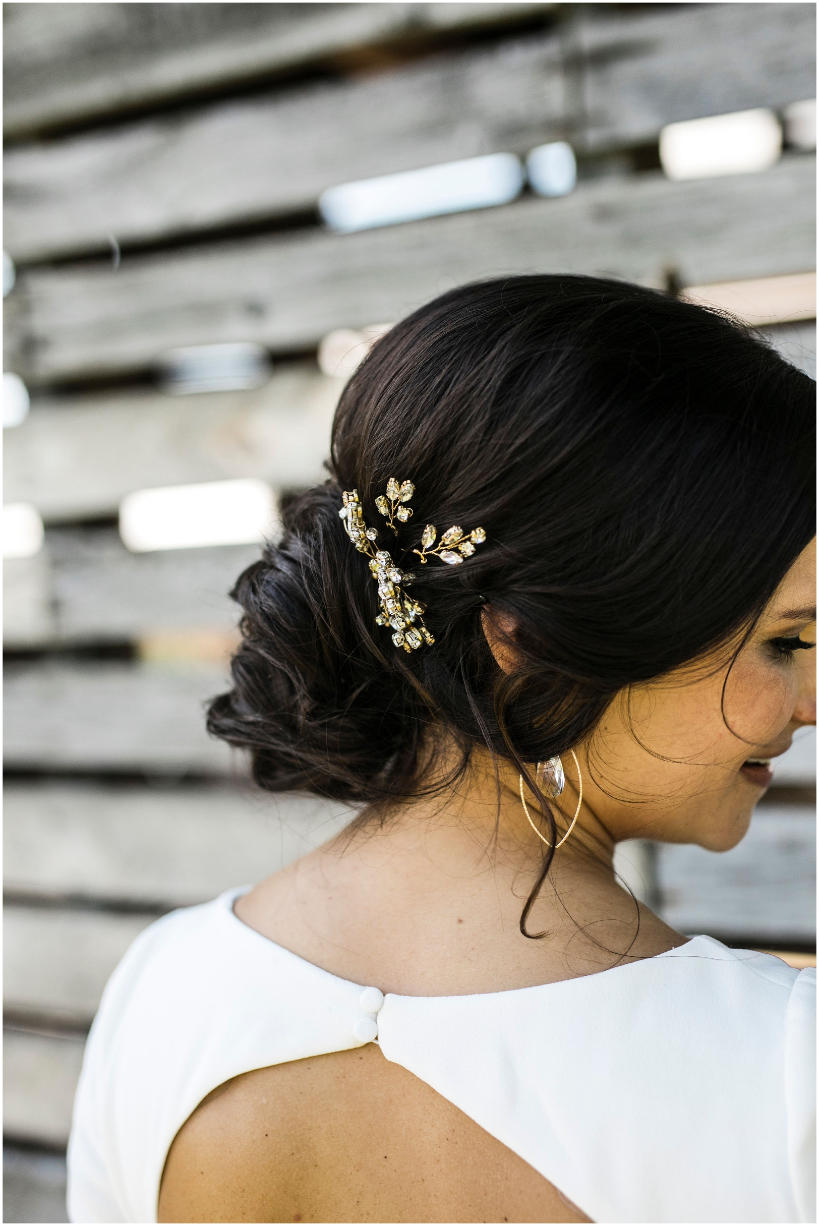 bride's hairstyle inspiration